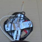 Replacing an outdoor light fixture -11