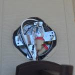 Replacing an outdoor light fixture -12