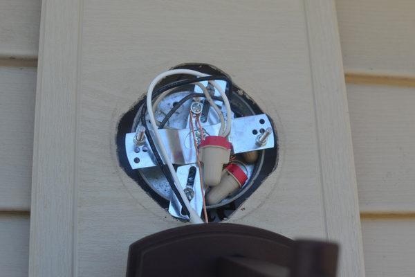 Replacing An Outdoor Light Fixture Concord Carpenter
