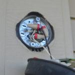 Replacing an outdoor light fixture -4