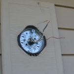 Replacing an outdoor light fixture -5