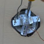 Replacing an outdoor light fixture -7