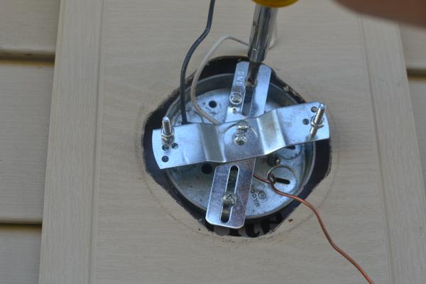 Replacing An Outdoor Light Fixture A Concord Carpenter