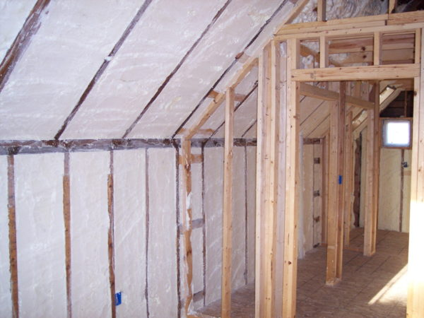 Bathroom ventilation and Insulation