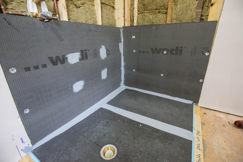 Wall Panels Interlock Into Pan