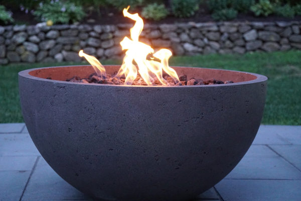 Based On Our Client S Wish List We Directed Them To Look At Eldorado Stone Gas Fed Fire Bowls Clients Fell In Love With The Styles Offers