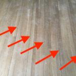 Open Seams In Hardwood Flooring