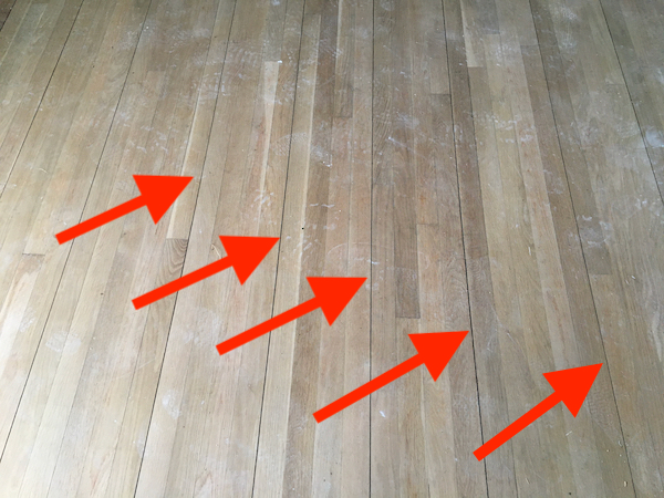 Open Seams In Hardwood Flooring